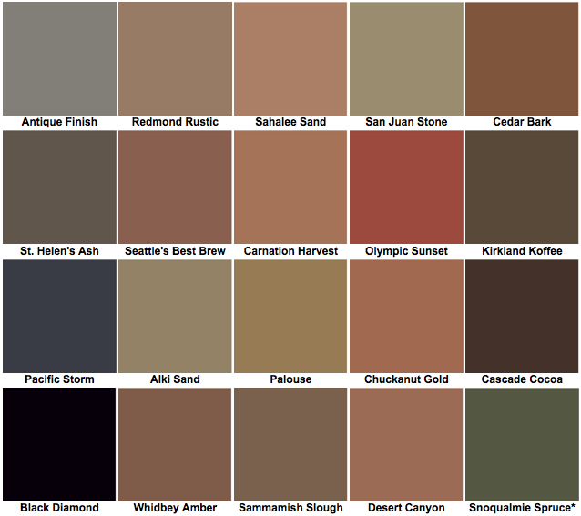 ColorMix™ Color Chart