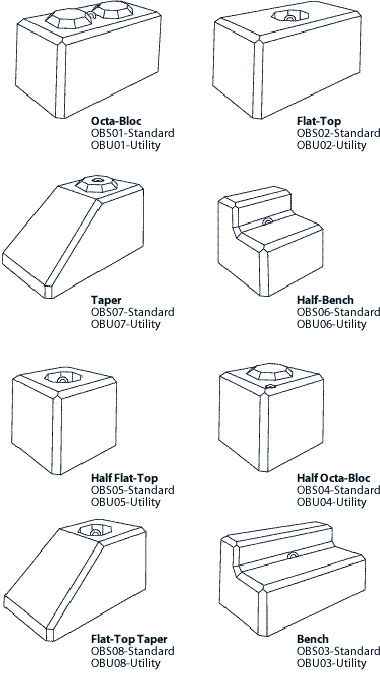 OCTA-BLOC® Shapes