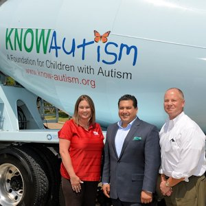 Campbell KNOWAutism Truck