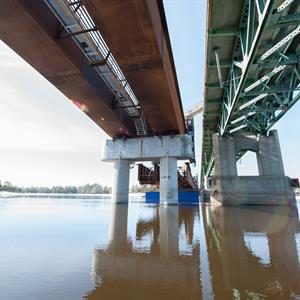 Image of Hanson Ready Mix Canada Projects Replacement of Pont Allumettes Bridge