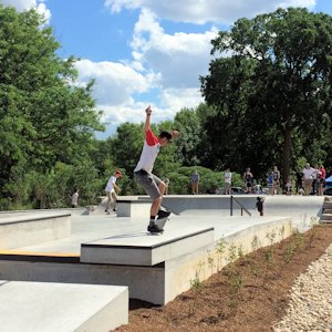 Image of Hanson Ready Mix Canada Projects Skate Park
