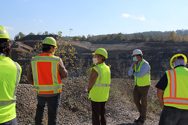 Hanson Downingtown Quarry Tour