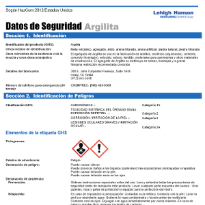 Image of Safety Data Sheets Spanish